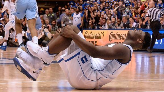 Krzyzewski: There's no rush for Zion to come back