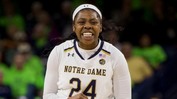 Ogunbowale breaks Notre Dame's all-time scoring record