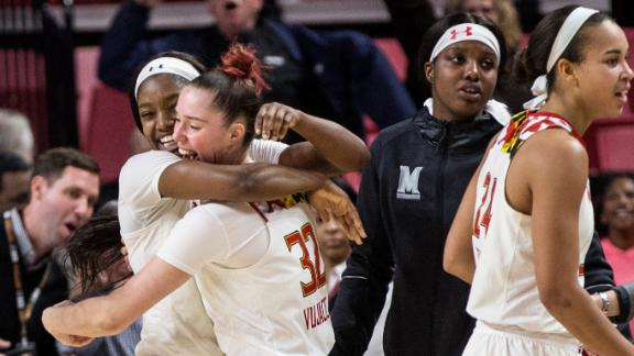 Maryland gets improbable comeback win