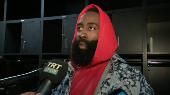 Harden: Foster should not be able to officiate Rockets' games