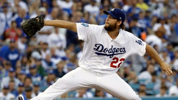 Kershaw taking time off from throwing
