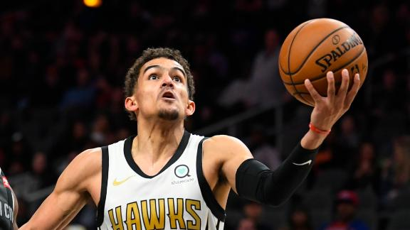 Young puts up 30 in Hawks' loss