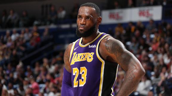LeBron's 27 points not enough as Lakers lose to Pelicans