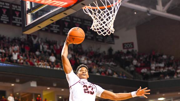 Red Raiders tie school record for 3s in lopsided win