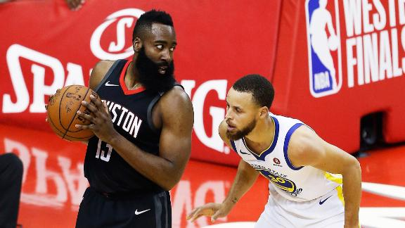 Harden matches up well against Curry