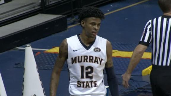 Morant puts up double-double in win