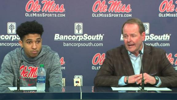 Ole Miss' Davis: We respect our players' freedom to choose
