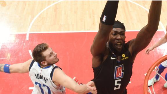 Harrell, Clippers top Doncic, Mavs