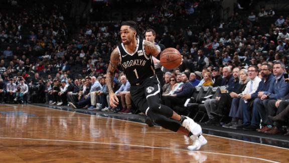 Russell's 28 points not enough in Nets' loss