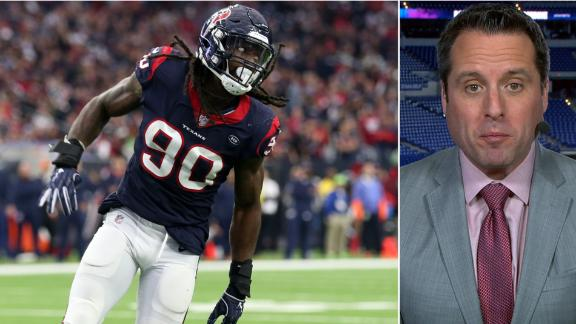 Texans place franchise tag on Clowney