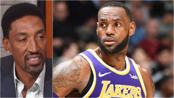 Pippen: Lakers managing LeBron's minutes is great move