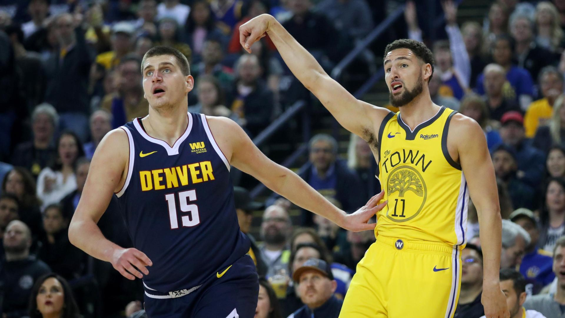 Thompson splashes nine 3-pointers in return to lineup