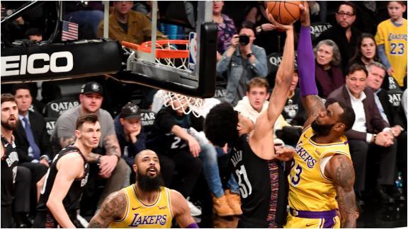 Jarrett Allen making his name blocking NBA's elite