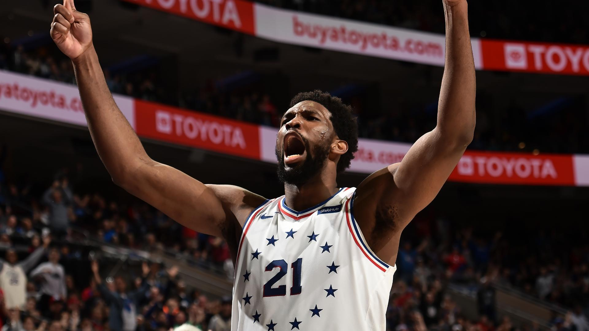 Embiid drops 33 points to lead 76ers past Pacers