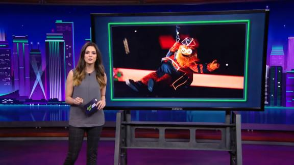 Katie Nolan recalls the moment when mascots turned on Gritty