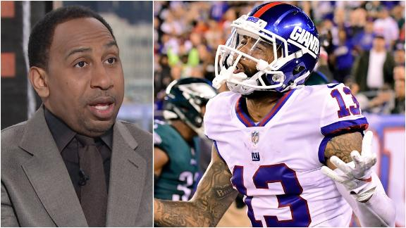 Stephen A. doesn't blame Giants for trading OBJ