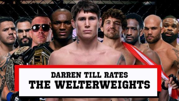 Darren Till rates Usman, Askren, Woodley & more