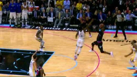 NBA's luckiest shots of the season