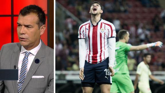 """Borgetti: """"Chivas mejoró en actitud, pero mal enfocada"""""""