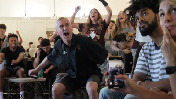Arizona State, St. John's and Temple celebrate making big dance