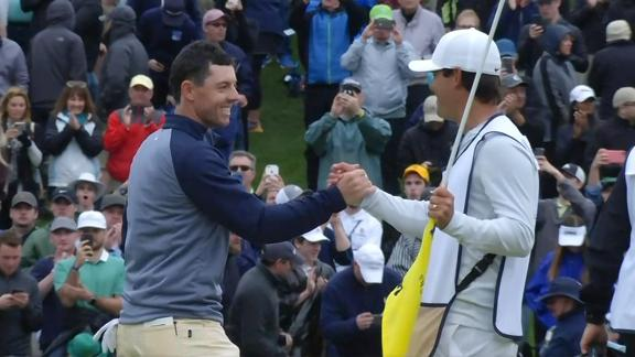 McIlroy plays strong back 9, wins 1st Players Championship