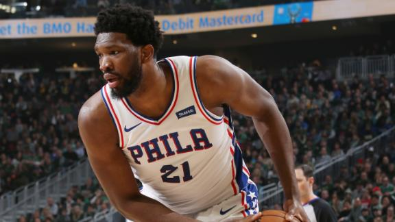 Embiid leads 76ers to big win over Bucks