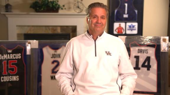 Calipari shares how Kentucky grew from Duke blowout loss