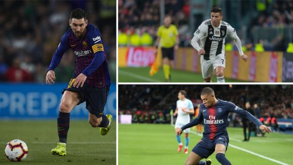 Messi se aleja de Mbappé y Cristiano está afuera del podio