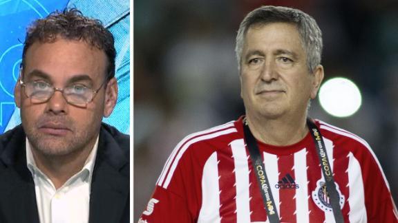 Vergara está bien, pero no está a cargo de Chivas
