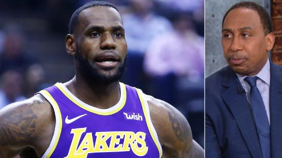 Stephen A. calls Frazier's comments on LeBron's 'irresponsible'