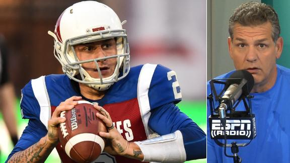 Golic: Manziel made right move going to AAF