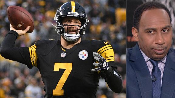 Stephen A. still rolling with Steelers to win AFC North