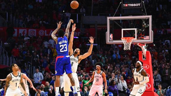 Williams spoils Nets' late rally with heroic game-winner