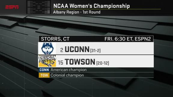 UConn receives No. 2 seed for first time since 2006