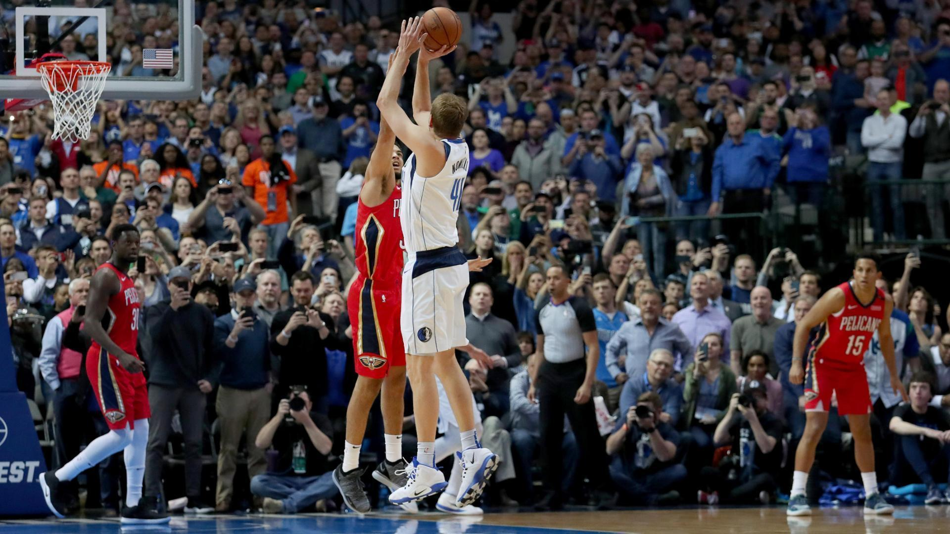 Dirk passes Wilt for 6th place in scoring