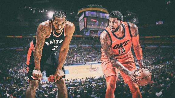 Raptors-Thunder highlights two-way stars