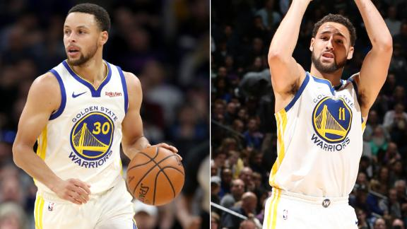 Thompson, Curry fuel Warriors past Timberwolves