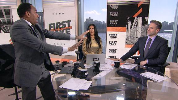 Stephen A. storms off the set after Max's take on Brees