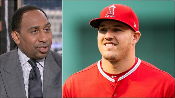 Stephen A: 'You don't lose a Mike Trout'