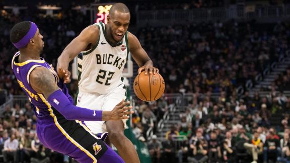 Middleton, Lopez power Bucks past Lakers without Giannis