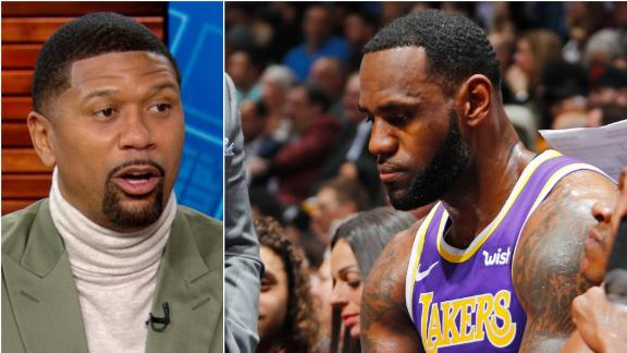 Jalen: LeBron showed 'disrespect to the coaching staff'