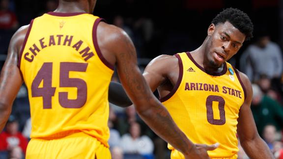 ASU's entertaining first half leads to First Four win