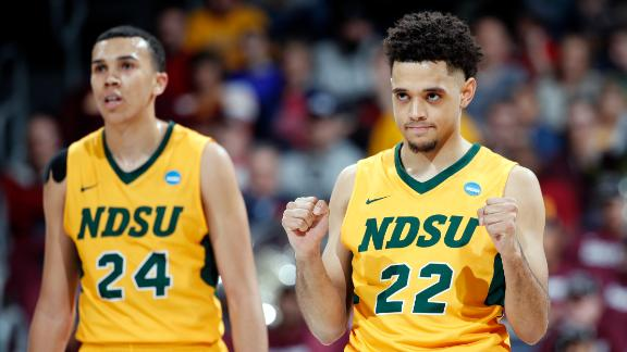 NDSU prevails over NC Central in back-and-forth battle