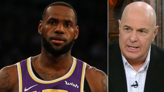Greenberg: The young Lakers aren't following LeBron anymore