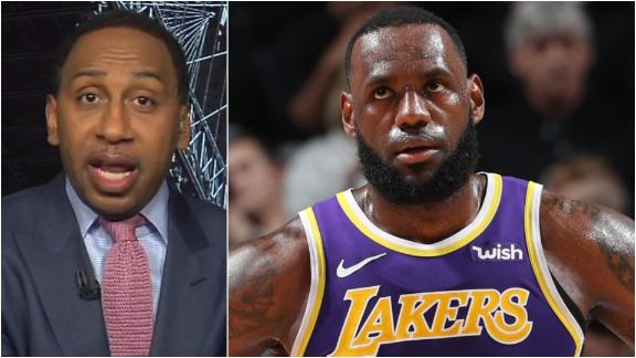 Stephen A: Kobe is telling LeBron championship or bust