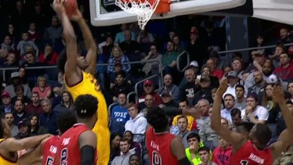 ASU's Lake throws down vicious putback