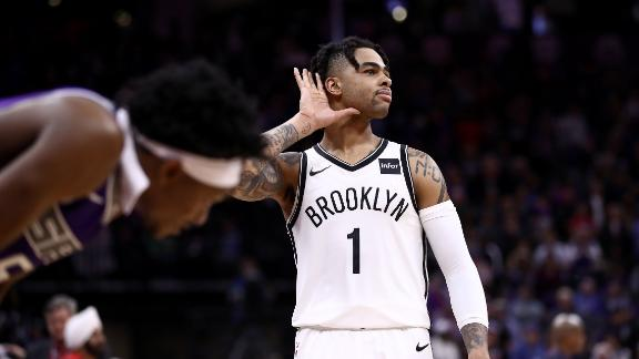 Russell's massive fourth quarter fuels Nets' comeback win