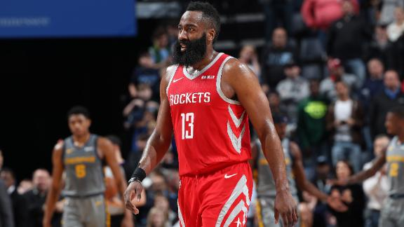 6f1ee0ea3b48 Harden drops second 50-point game vs. Grizzlies