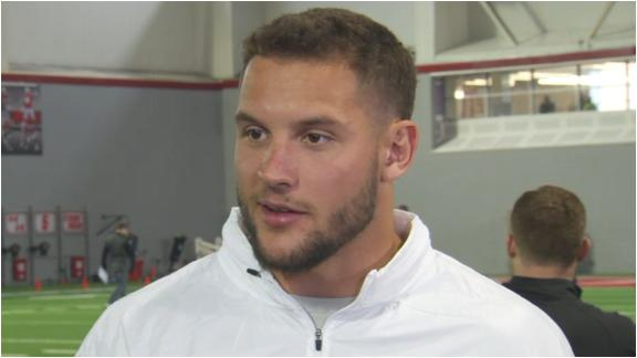 Nick Bosa: Training with Joey is getting me ready
