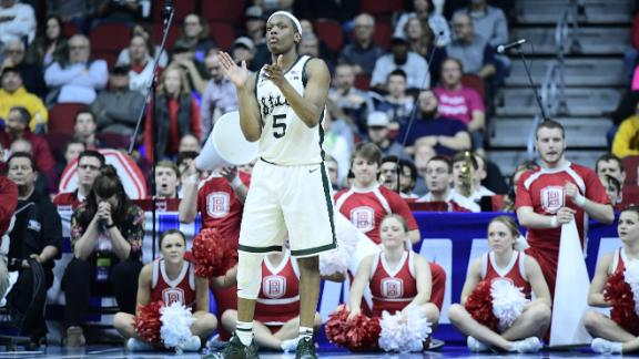 Michigan State's late 7-0 run fuels them to win